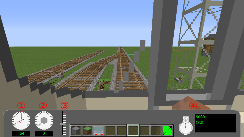 Real Train Mod Realistic Japanese Style Railways - Minecraft lan spielen mit mods
