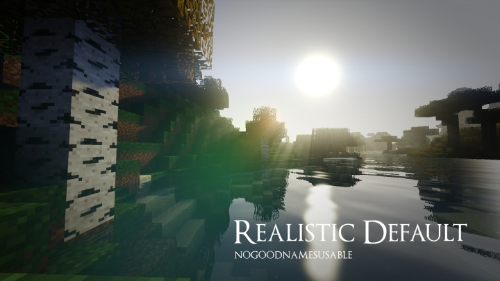 Realistic Default Resource Pack