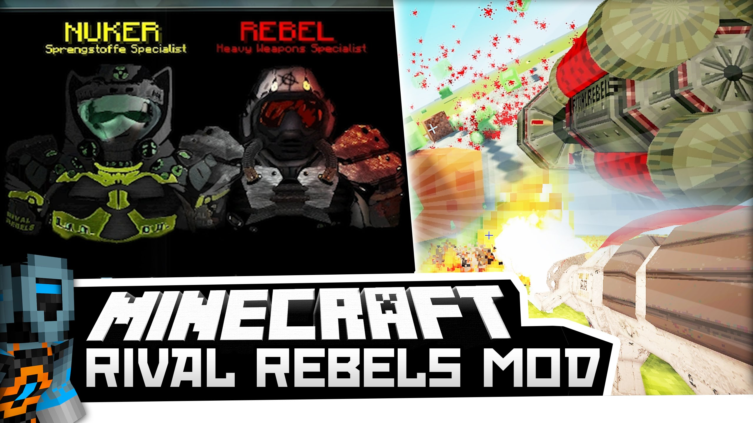 Rival Rebels Mod 1.7.10 Download