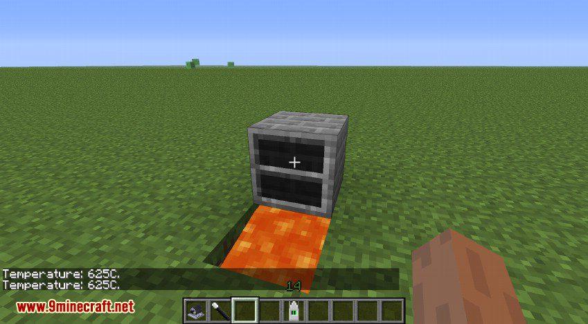 RotaryCraft Mod Blast Furnace