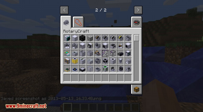 RotaryCraft Mod Creative Inventory 6