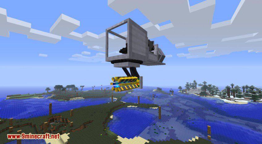 RotaryCraft Mod RailGun 3