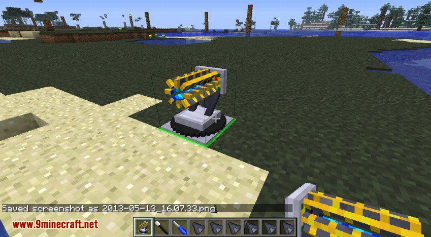 RotaryCraft Mod RailGun 4