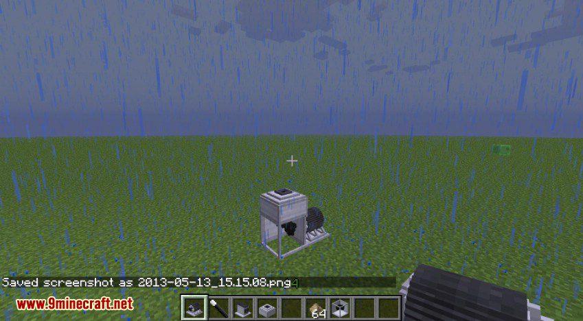 RotaryCraft Mod Silver Iodide Cannon 1
