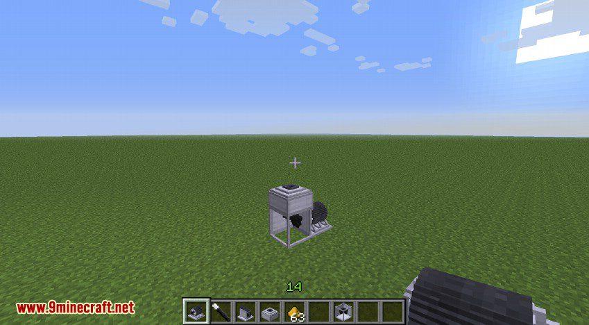 RotaryCraft Mod Silver Iodide Cannon