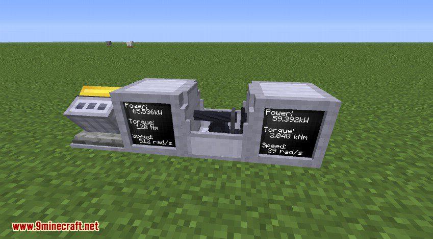 RotaryCraft Mod Worm Gear