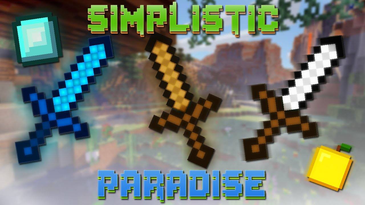 Simplistic Paradise Resource Pack