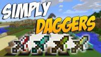 Simply Daggers Mod