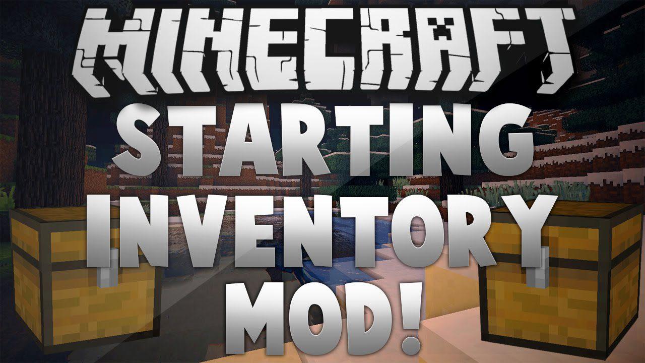 Minecraft Starting Inventory Mod 1.7.10 Download