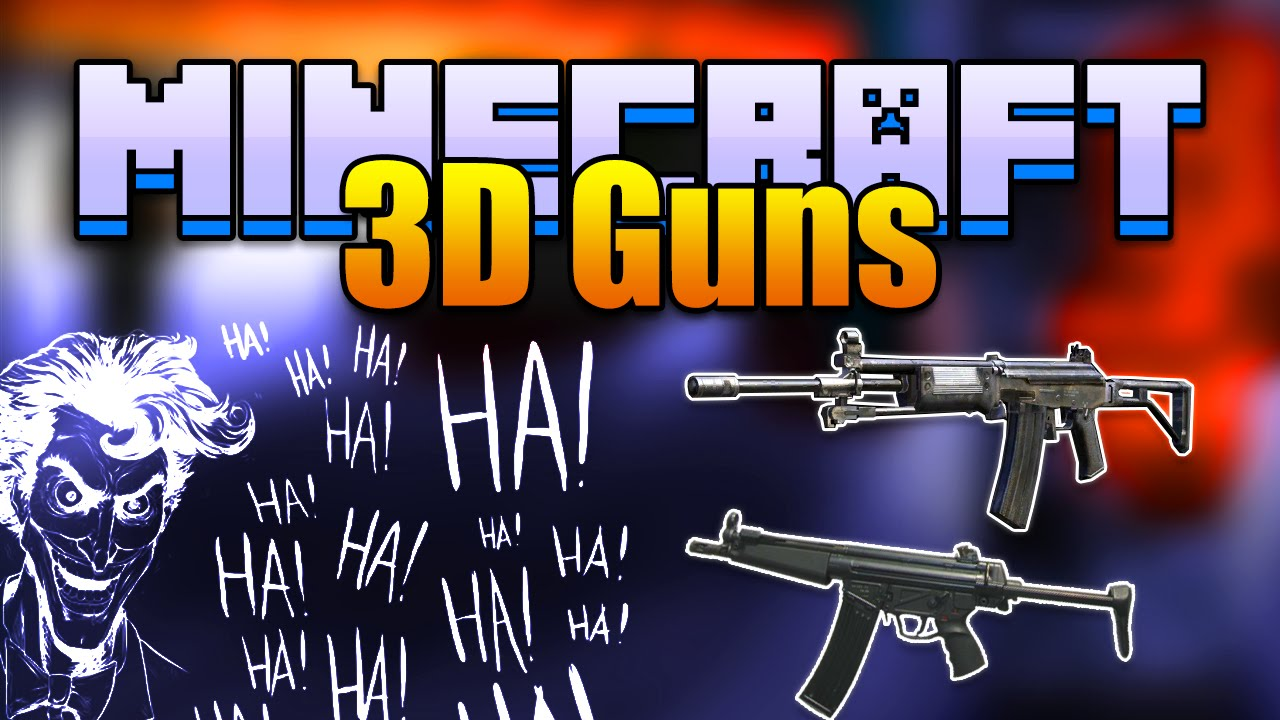 Stefinus 3D Guns Mod