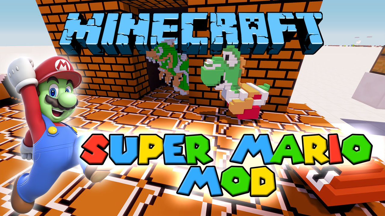 Super Mario Mod 1 7 10 (Travel to the Mario Dimension) - 9Minecraft Net