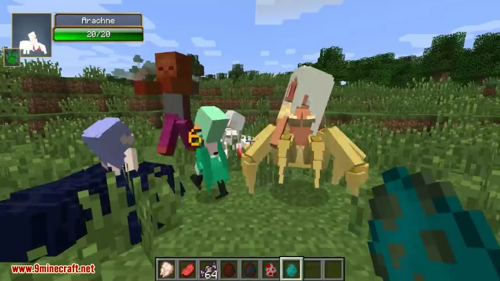Tameable Arachne Mod Screenshots 11