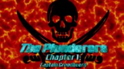 The Plunderers Chapter 1 Captain Greedbeard Map Logo