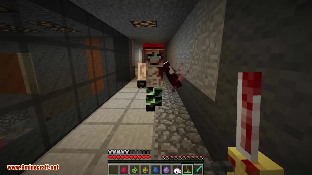 The Resident Evil Mod 1 7 10 (Epic Gruesome Mobs) - 9Minecraft Net