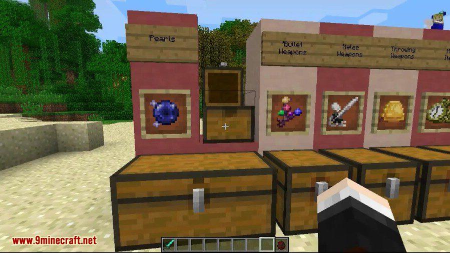 Touhou Items Mod 1