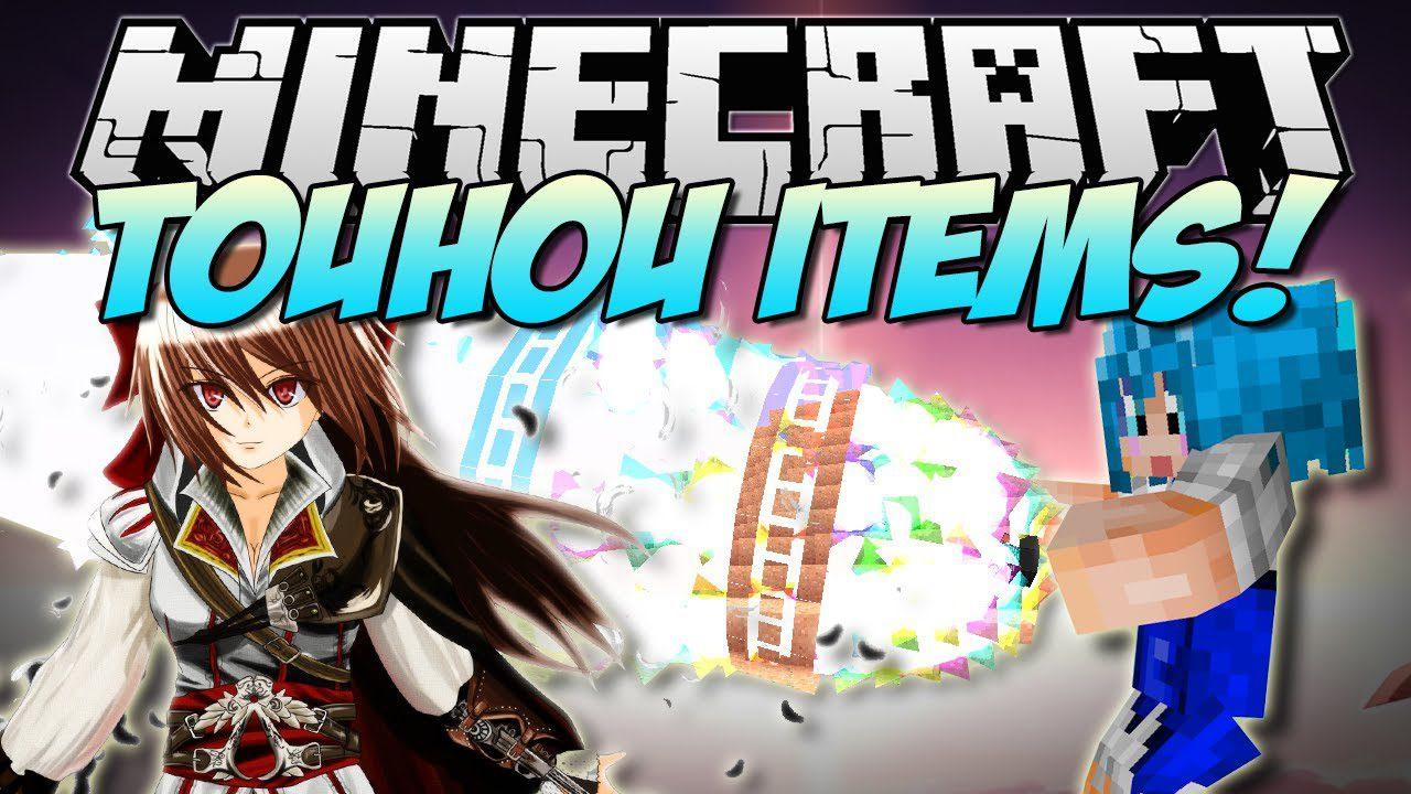Touhou items mod 1. 7. 10 (crazy anime magic) 9minecraft. Net.