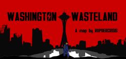 Washington Wasteland Map Logo