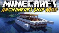 Archimedes Ships Plus Mod