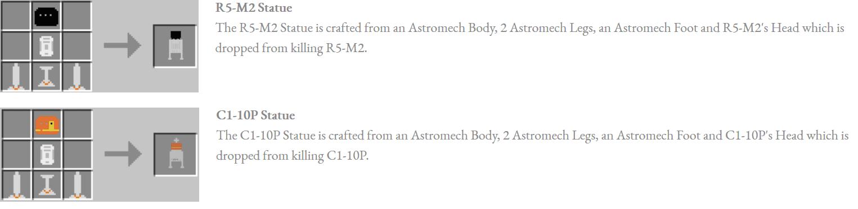 Astromech Droids Mod Crafting Recipes 10