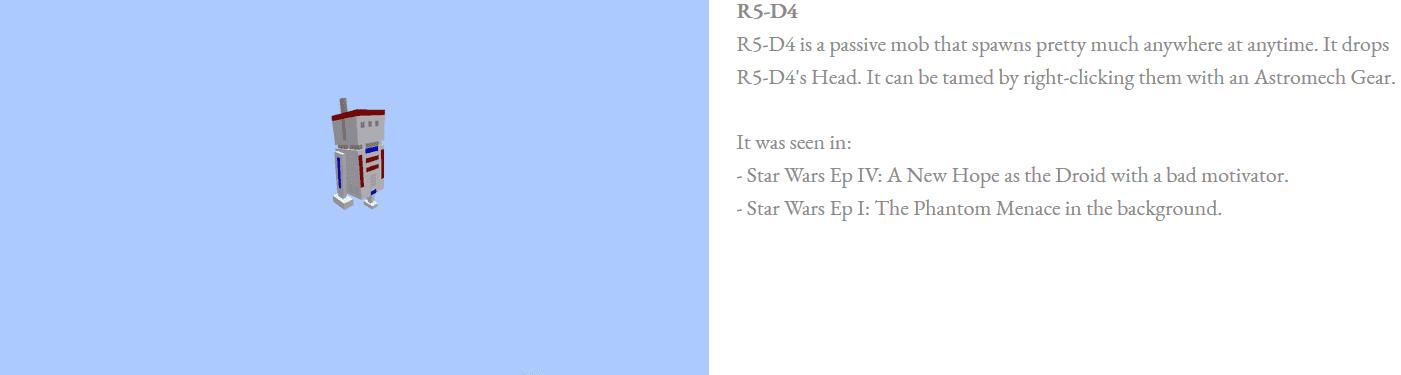 Astromech Droids Mod Features 3