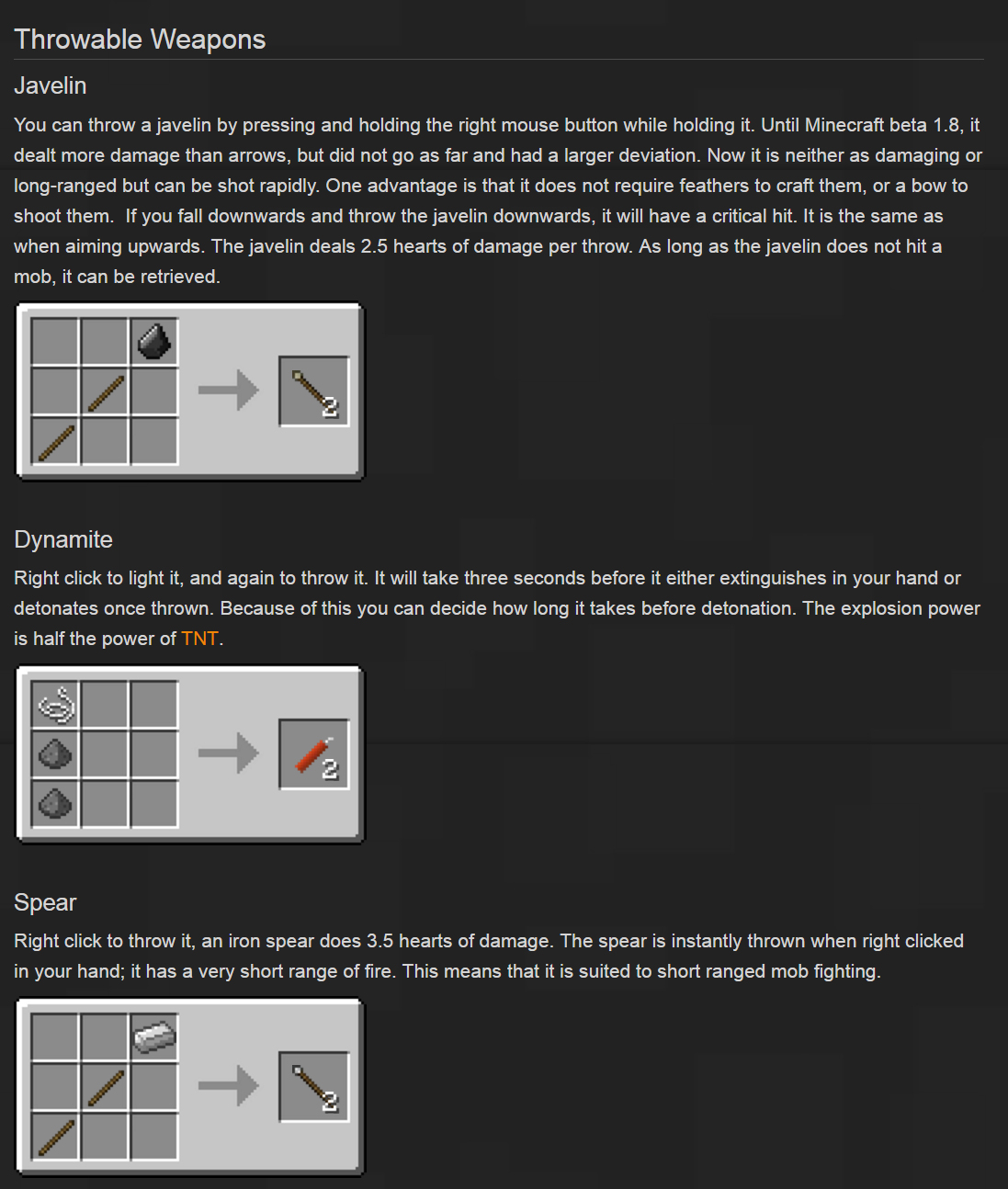 Balkon's Weapon Mod Crafting Recipes 2