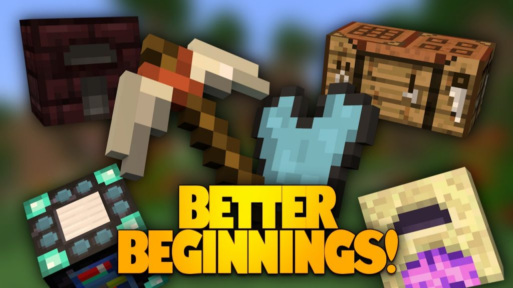 Better Beginnings Mod 1.10.2/1.7.10