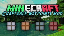 Craftable Waypoints Mod