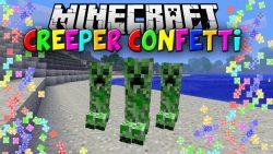 Creeper Confetti Mod