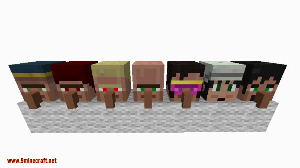 Cubic Villager Mod Screenshots 1
