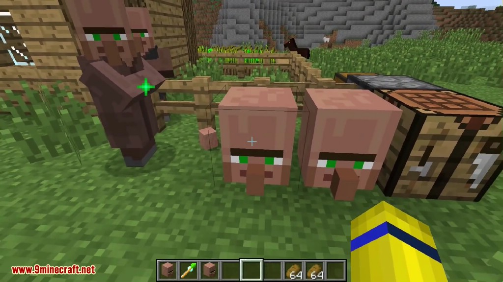 Cubic Villager Mod Screenshots 8