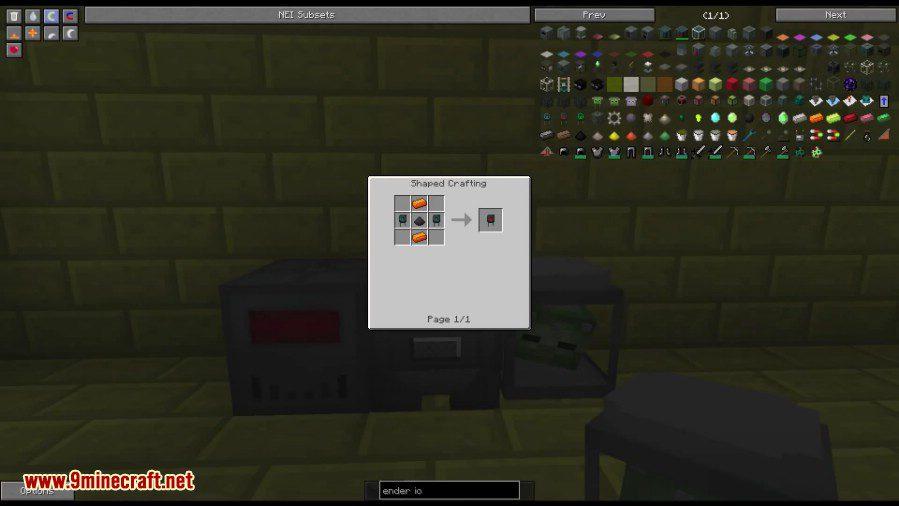 Ender IO Mod Crafting Recipes 3