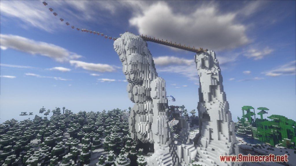 Minecraft Christmas Map.Epic Jump Christmas Trolling Map 1 12 2 1 11 2 For