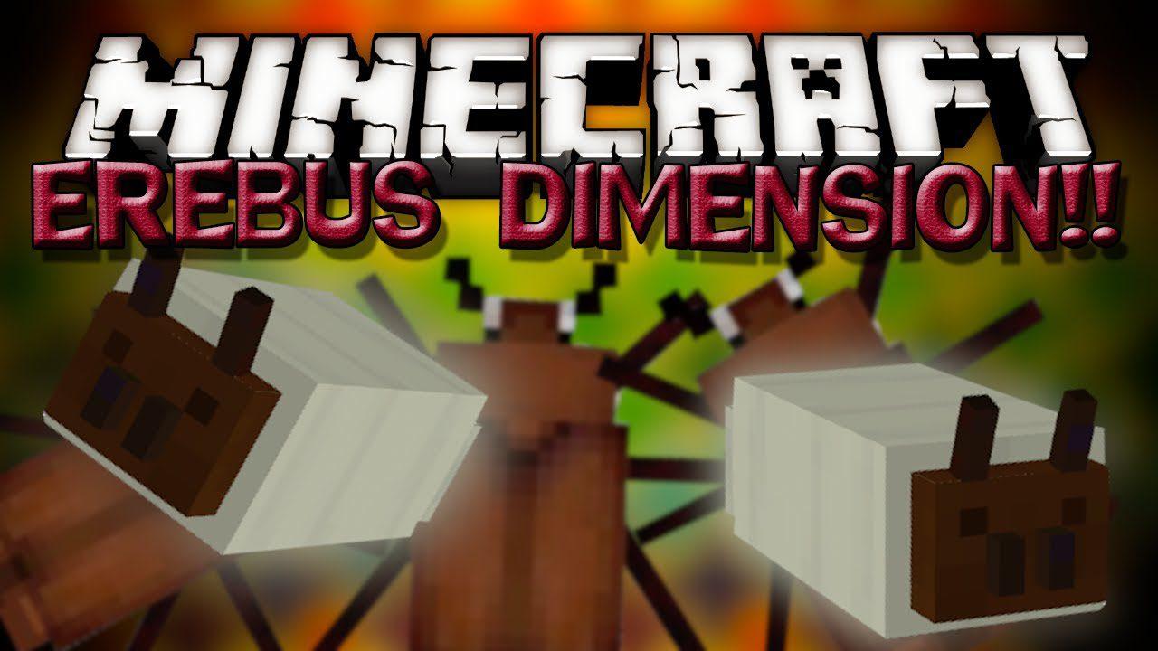 Erebus Dimension Mod 8.88.8/8.8.80 (Land of The Bugs) - 8Minecraft.Net