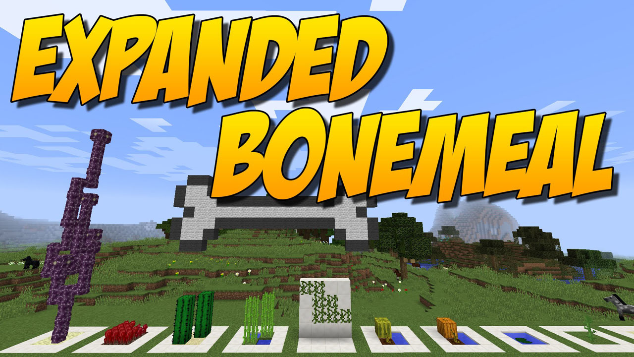 Expanded Bonemeal Mod 1.12.2/1.11.2 Download
