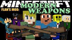 Flan's Modern Weapons Pack Mod 1 12 2/1 7 10 - 9Minecraft Net