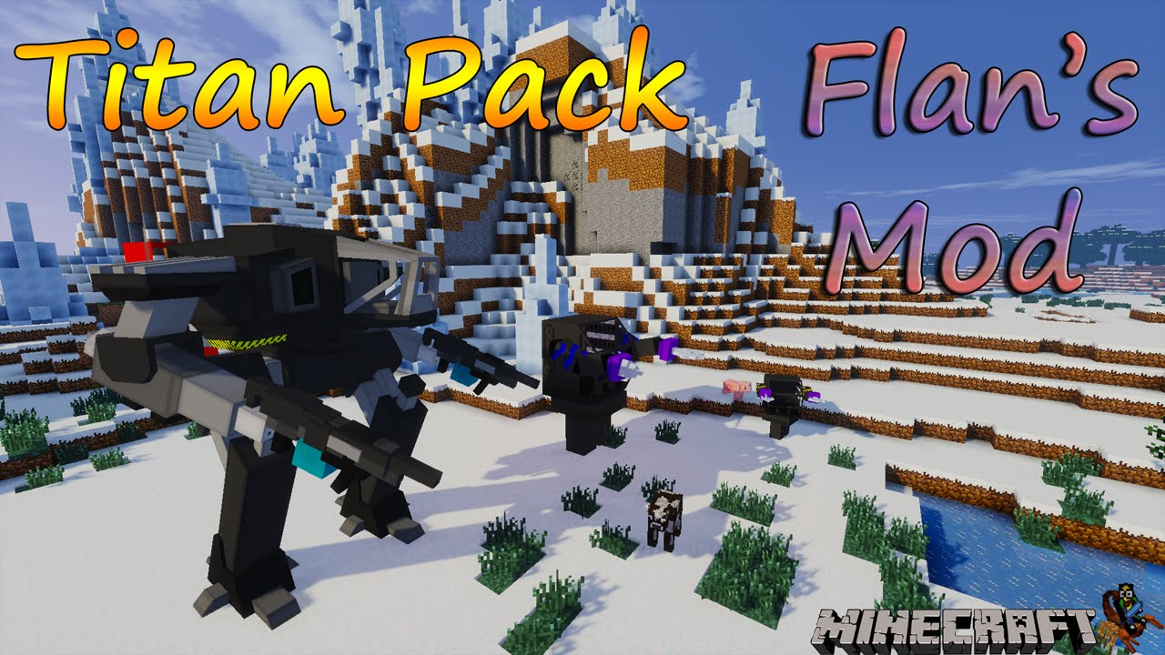Minecraft mods showcase flan's mod! (1. 8) 1. 7. 10 1. 8. 2.