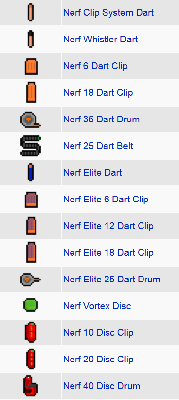 Flan's Nerf Pack Mod Features 2
