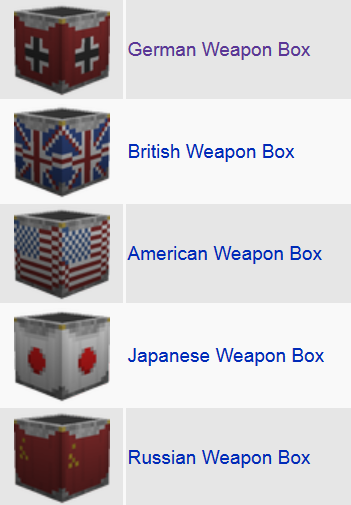 Flan's World War Two Pack Mod Features 15