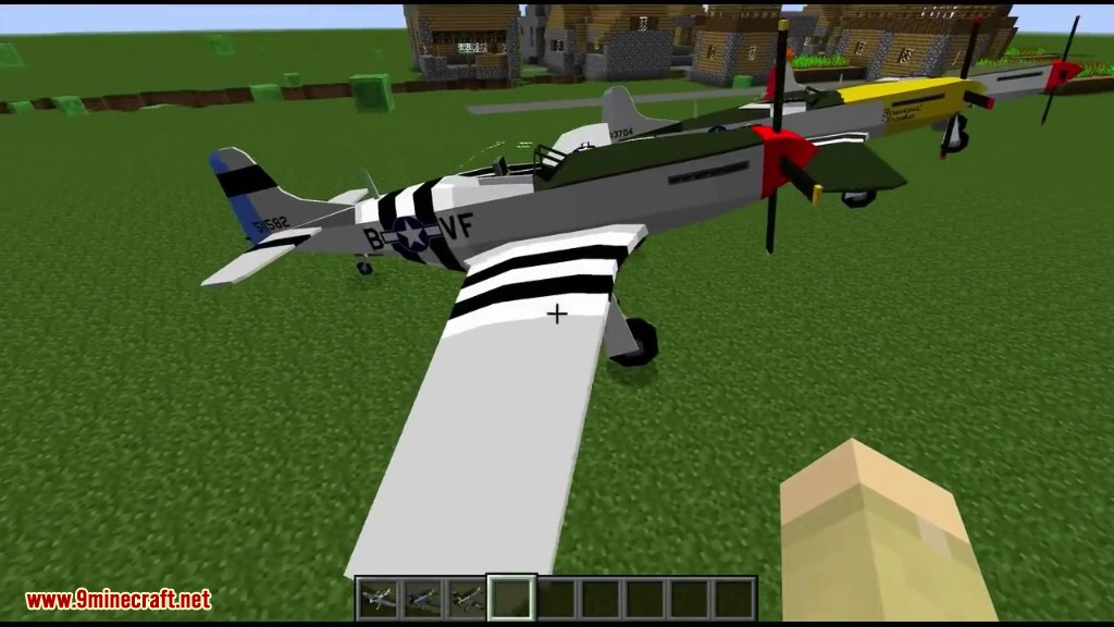 Flan's World War Two Pack Mod 1 12 2/1 7 10 (Guns, Planes