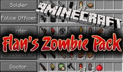 Flan's Zombie Pack Mod