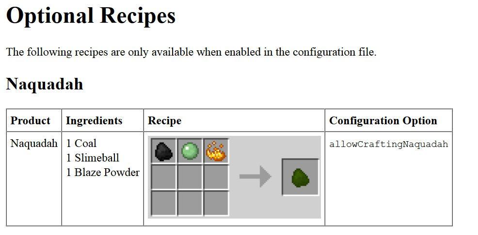 Greg's SG Craft Mod Crafting Recipes 4