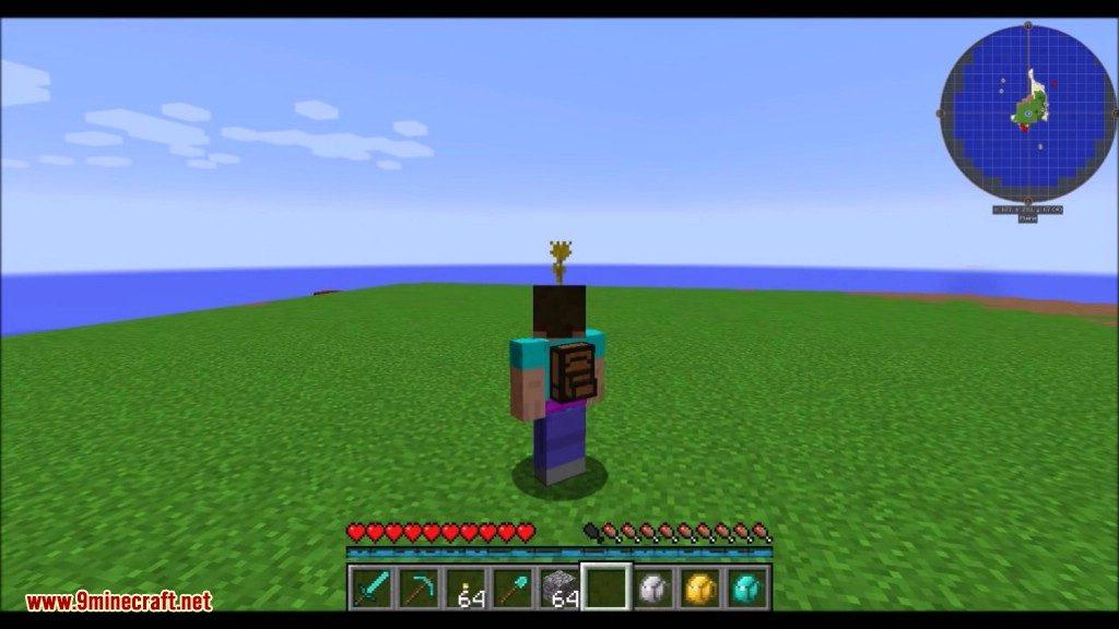 Iron Backpacks Mod Screenshots 1