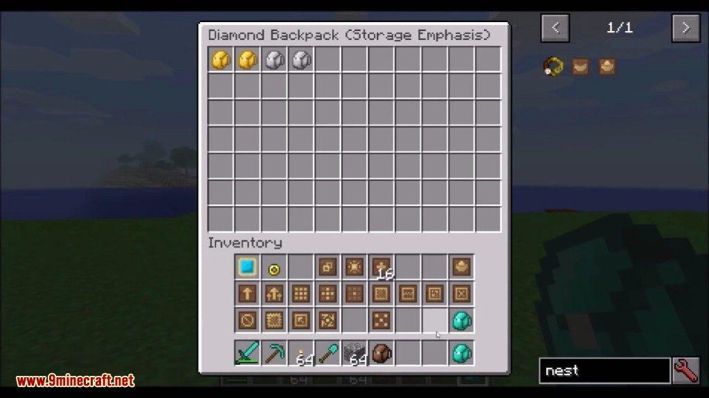 Iron Backpacks Mod Screenshots 5
