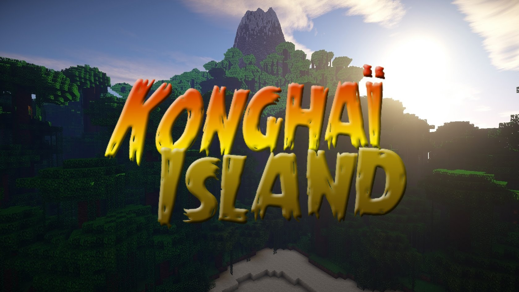 Konghaï Island Map 1.12.2/1.11.2 for Minecraft - 9Minecraft.Net