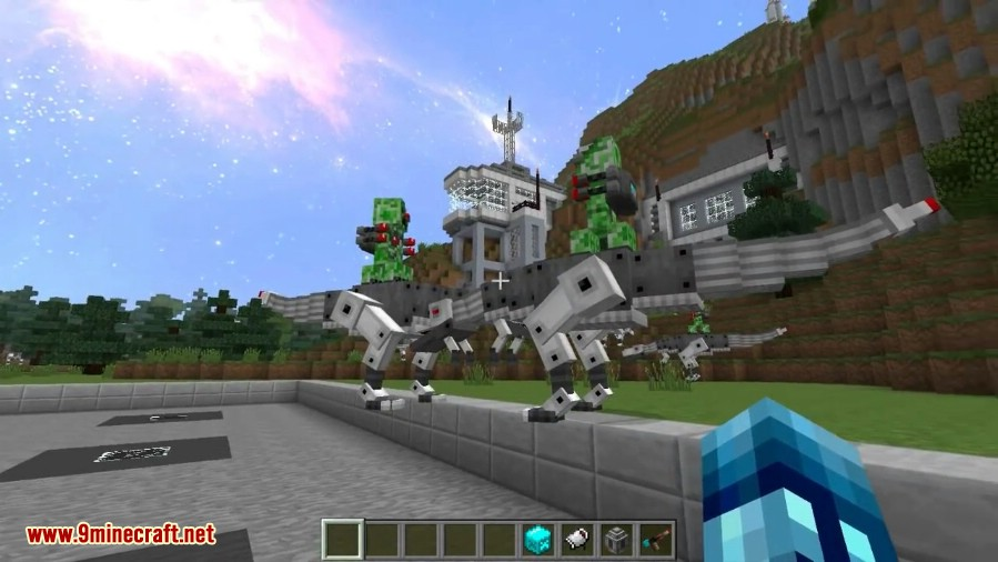 Laser Creeper Robot Dino Riders Mod Screenshots 3