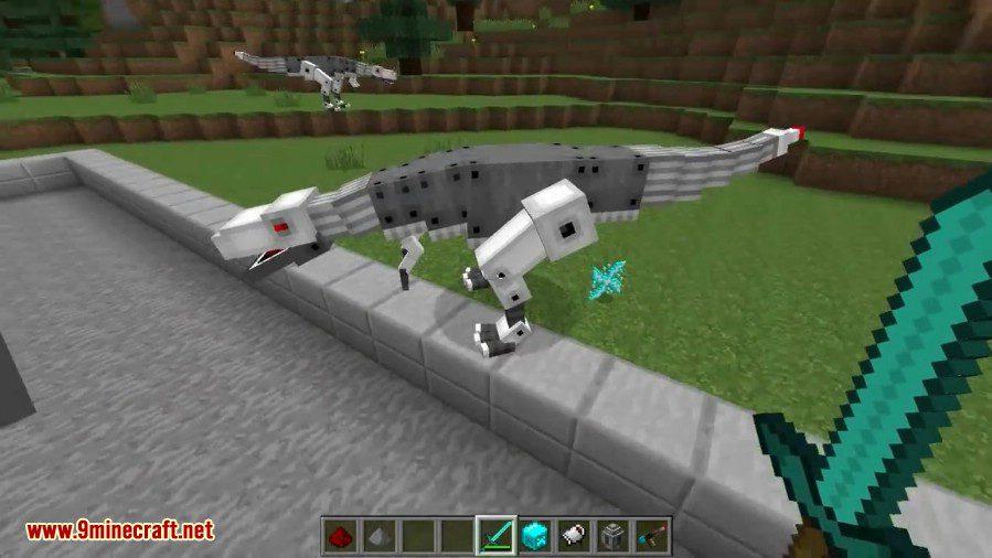 Laser Creeper Robot Dino Riders Mod 1 12 2 1 10 2
