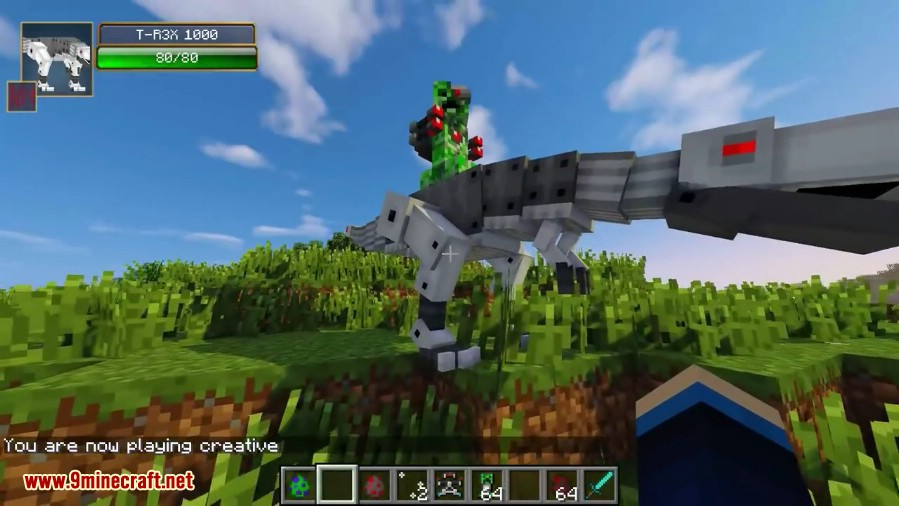 Laser creeper robot dino riders mod 11021710 9minecraft laser creeper robot dino riders mod screenshots 5 voltagebd Image collections