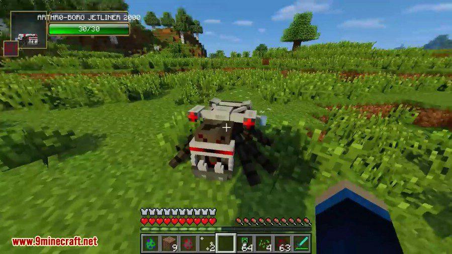 Laser Creeper Robot Dino Riders Mod Screenshots 6