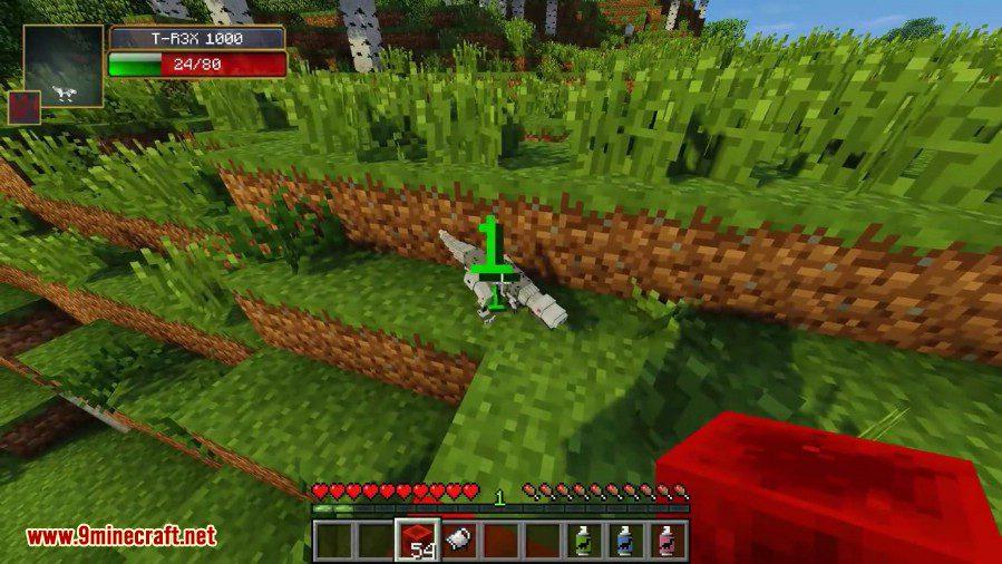 Laser Creeper Robot Dino Riders Mod Screenshots 8