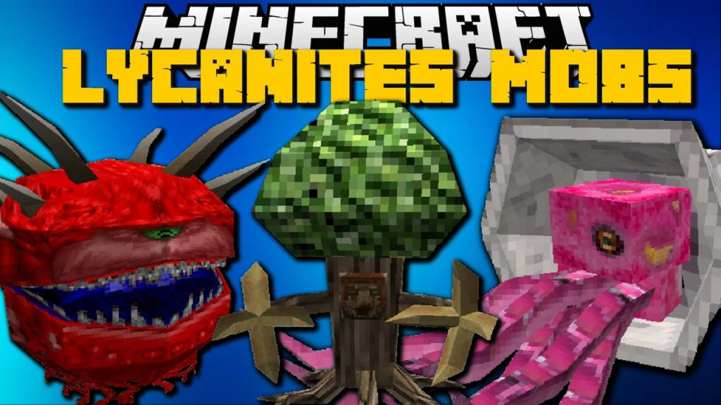 Lycanite's Mobs Mod 1.12.2/1.11.2 (Inferno Creatures)